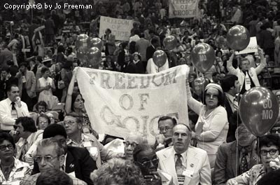 Something Did Happen At The Democratic Convention By Jo Freeman