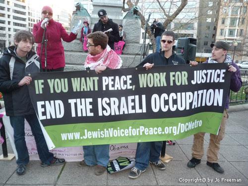 JVP protest occupation jan 2013