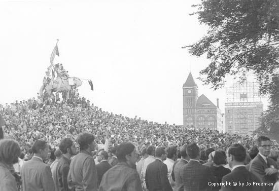 1968 Democratic Convention Photo