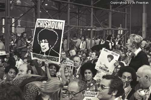 Shirley Chisholm 1972 presidential campaign
